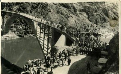 ELAZIĞ - KÖMÜRHAN KÖPRÜSÜ AÇILIŞ MERASİMİ 1937