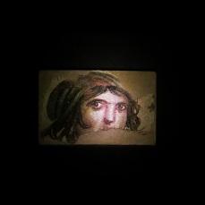 Çingene Kızı (Menat) Mozaiği